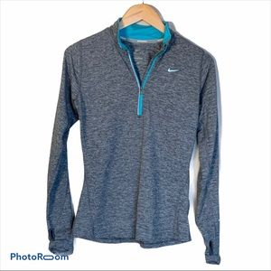 Nike dry fit long sleeves running top SZ S EUC